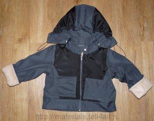 Схема выкройка куртки для девочек до года