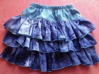 Как сделать из остатков ткани юбку