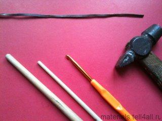 мастер-класс кулон из пластики