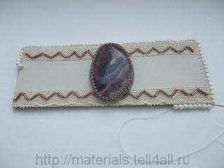 мастер-класс кожаный браслет