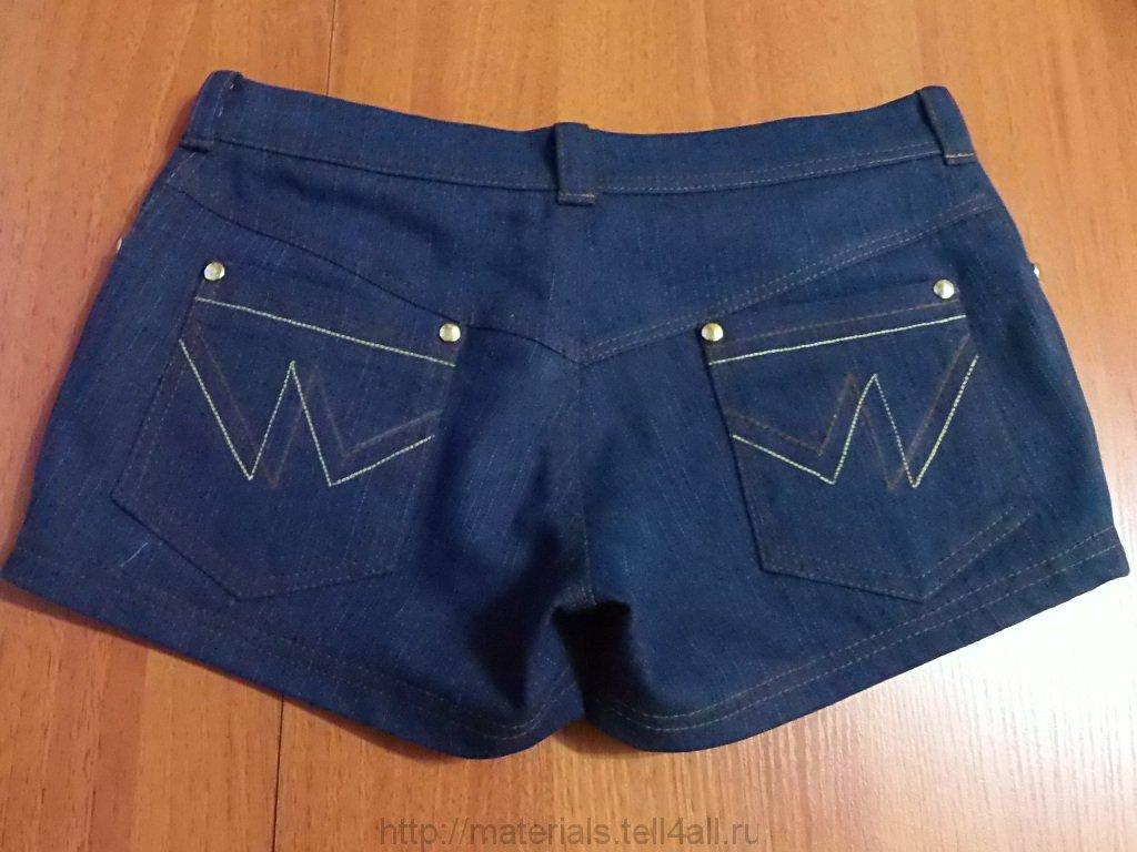 Шорты джинсовые сшить 86
