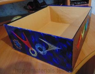 коробка изонить
