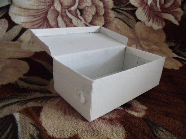 Декупаж коробок из под обуви своими руками