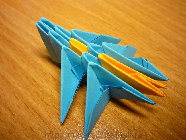 Как сделать оригами стрекоза фото 362