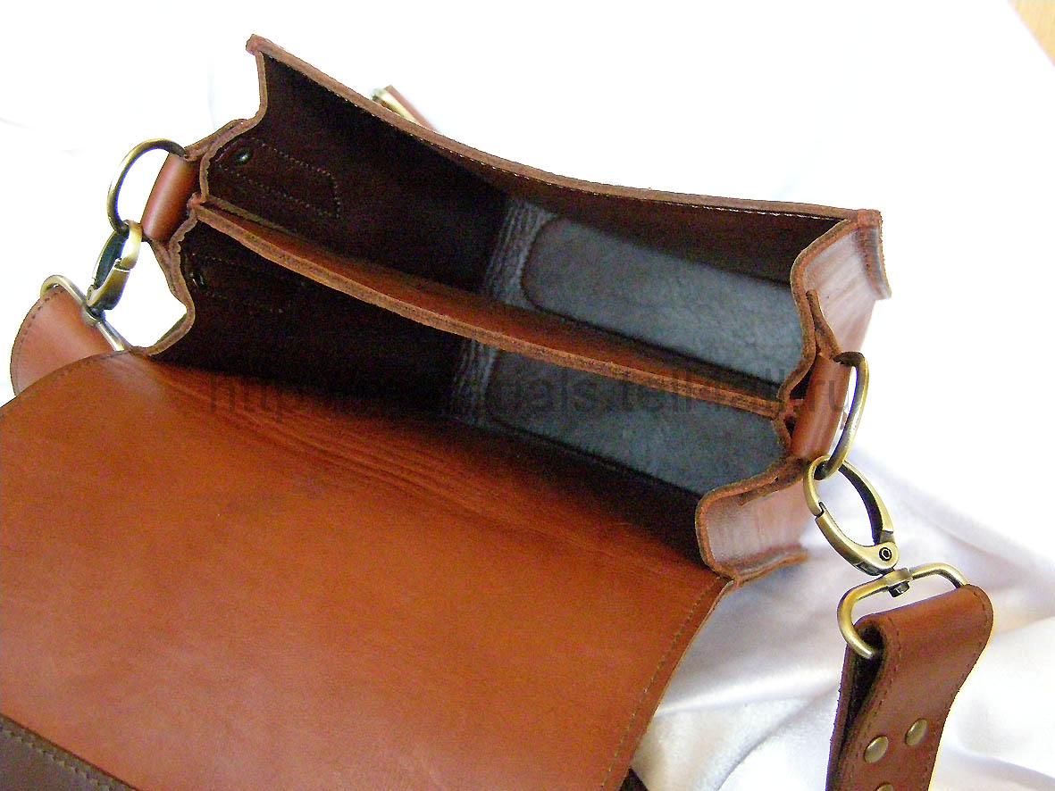 Как сделала кожаны сумка