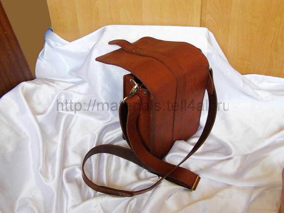 Как сшить мужскую кожаную сумку мастер класс