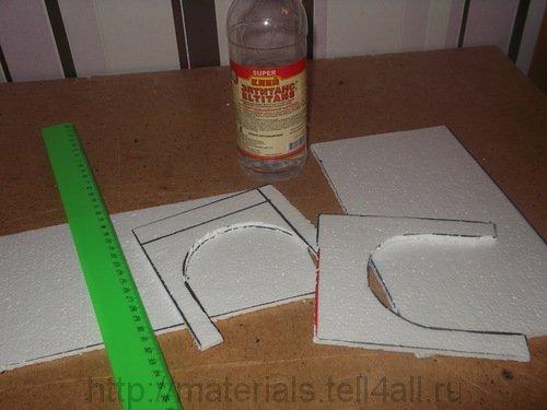 Потолочная плитка в домашних условиях