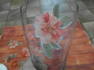 ваза декупаж