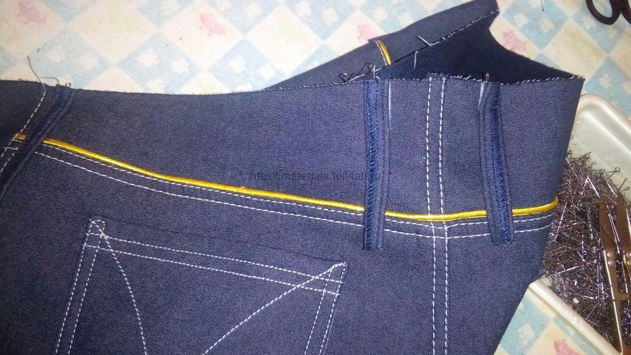 Как сшить джинсы: - территория женских