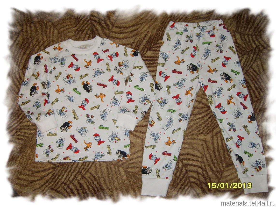 Сшить своими руками пижаму на ребенка