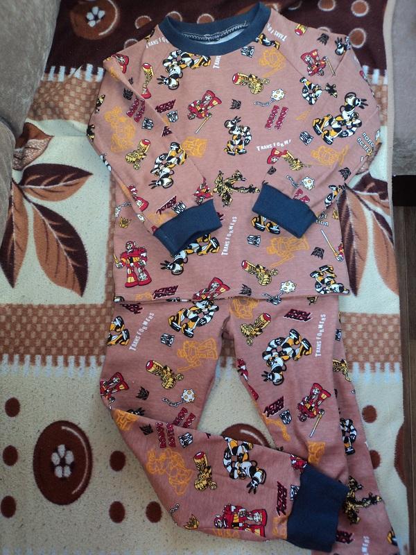 Пижама на 3 года сшить