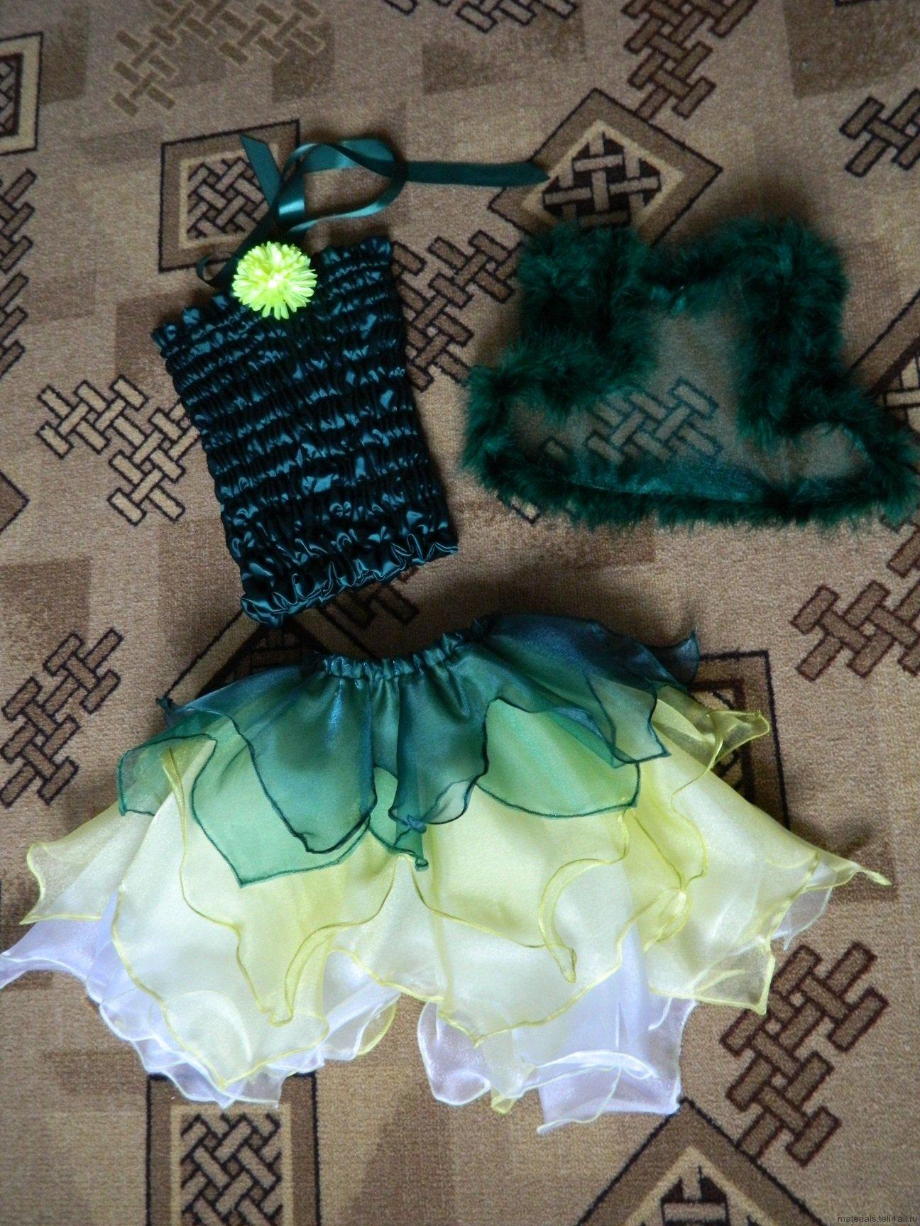 Как сшить платье феи своими руками