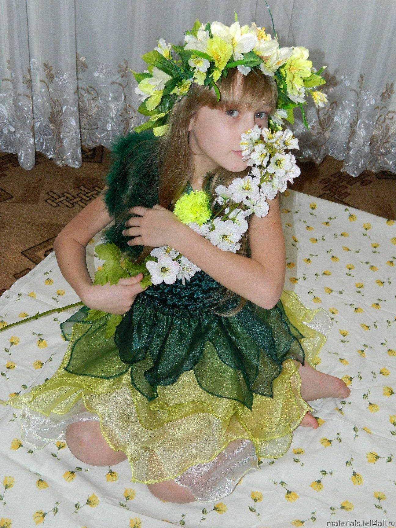 шелковое летнее платье с кокеткой