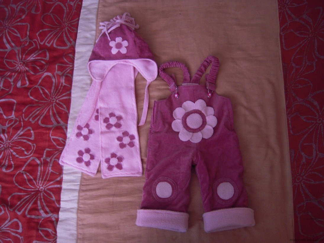 Детские комбинезоны для девочек своими руками