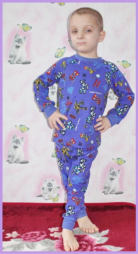 Сшить пижаму на ребёнка 36