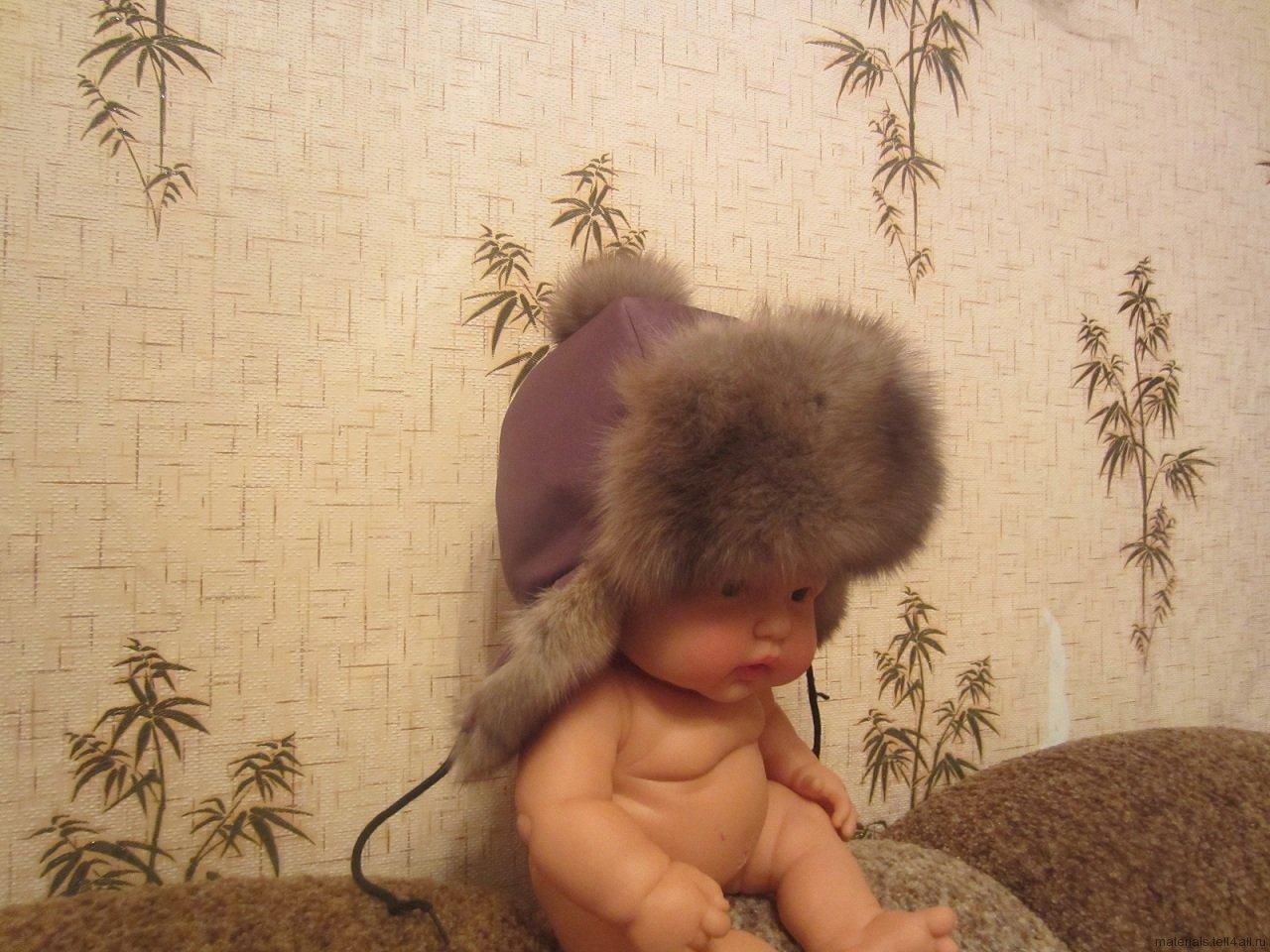 Как сшить шапку-ушанку мальчику фото 3