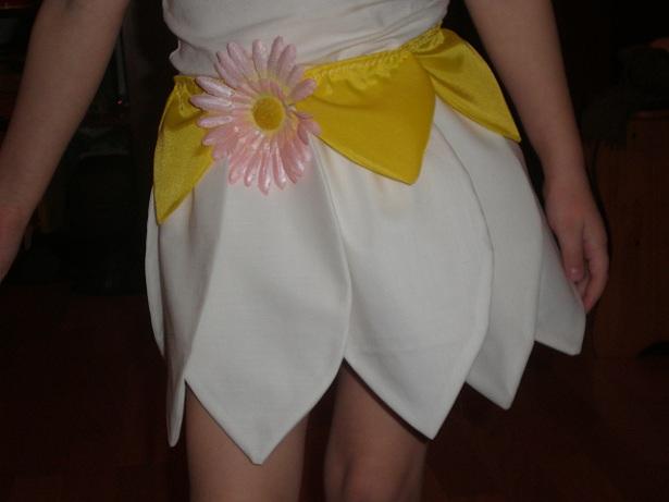 Выкройка платья ромашки