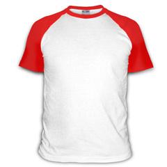 Выкройка детской футболки с рукавом реглан