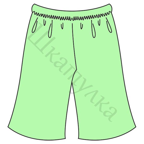 Выкройка простых штанишек