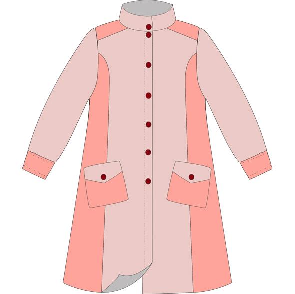Пошив детского пальто (30 изображения ) ::