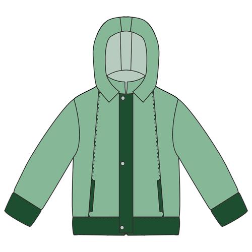 Выкройка куртки для мальчика