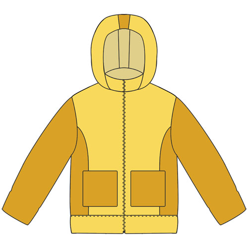 выкройка детской куртки