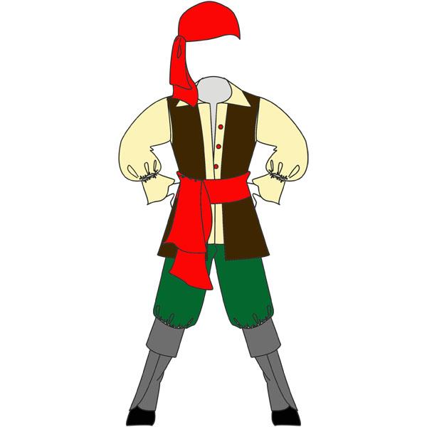 Новогодний костюм «Пират»