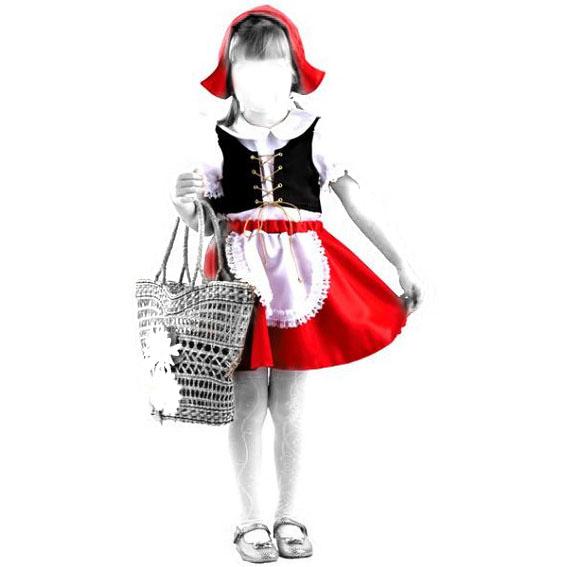 Как сшить платье как у красной шапочки