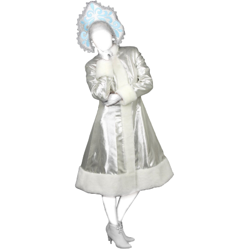 Новогодний костюм: Снегурочка