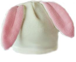 Выкройка шапочки с ушками