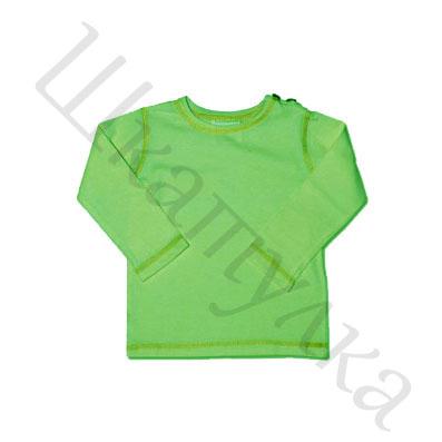 Выкройка детской футболки с длинным рукавом