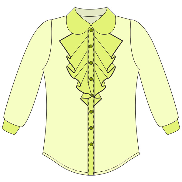 d89f59ac69b Выкройка блузки для девочки