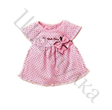 Платья малышкам из трикотажа