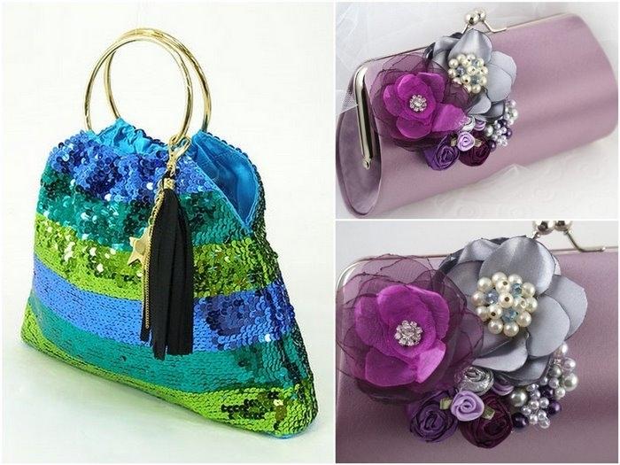 Как сделать украшения на сумку