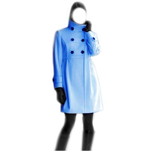 Выкройка женского пальто