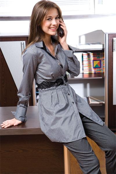 Как из мужской сорочки сшить женскую блузку