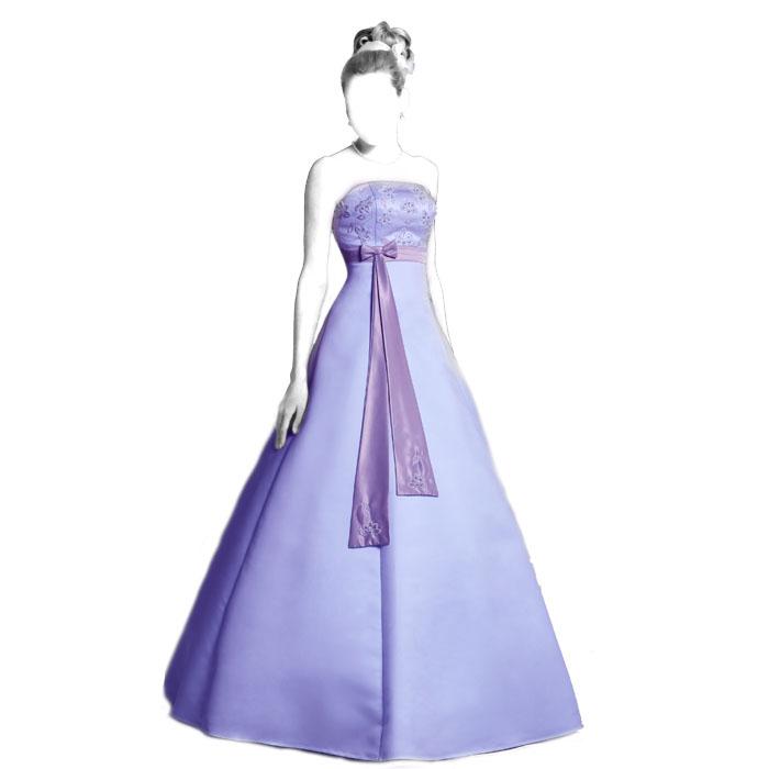 Выкройка свадебного платья-шестиклинки WD180413