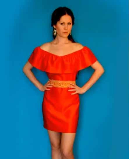 Как быстро сшить платье