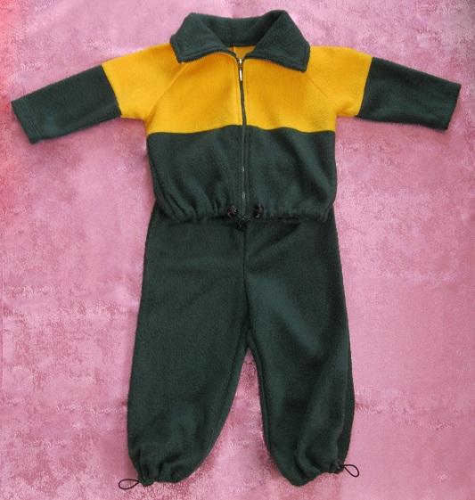 Детский костюм из флиса своими руками