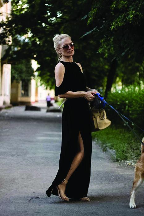 Свободное легкое летнее платье