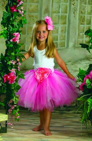 Юбка для маленькой принцессы