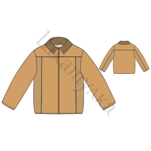 casacos padrão para meninos