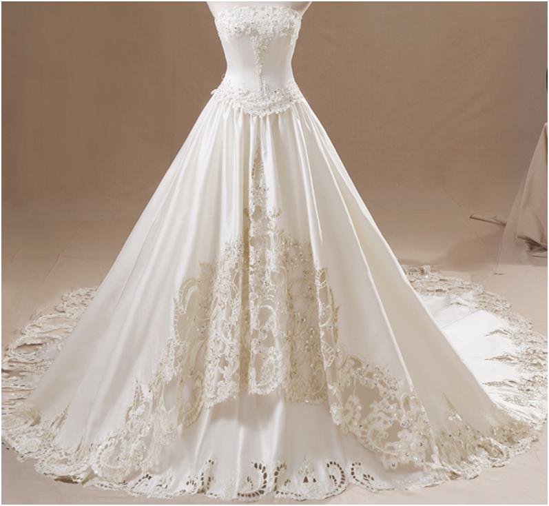 Шьём свадебное платье