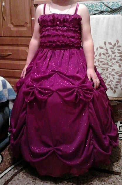 платье для дочки к новому году