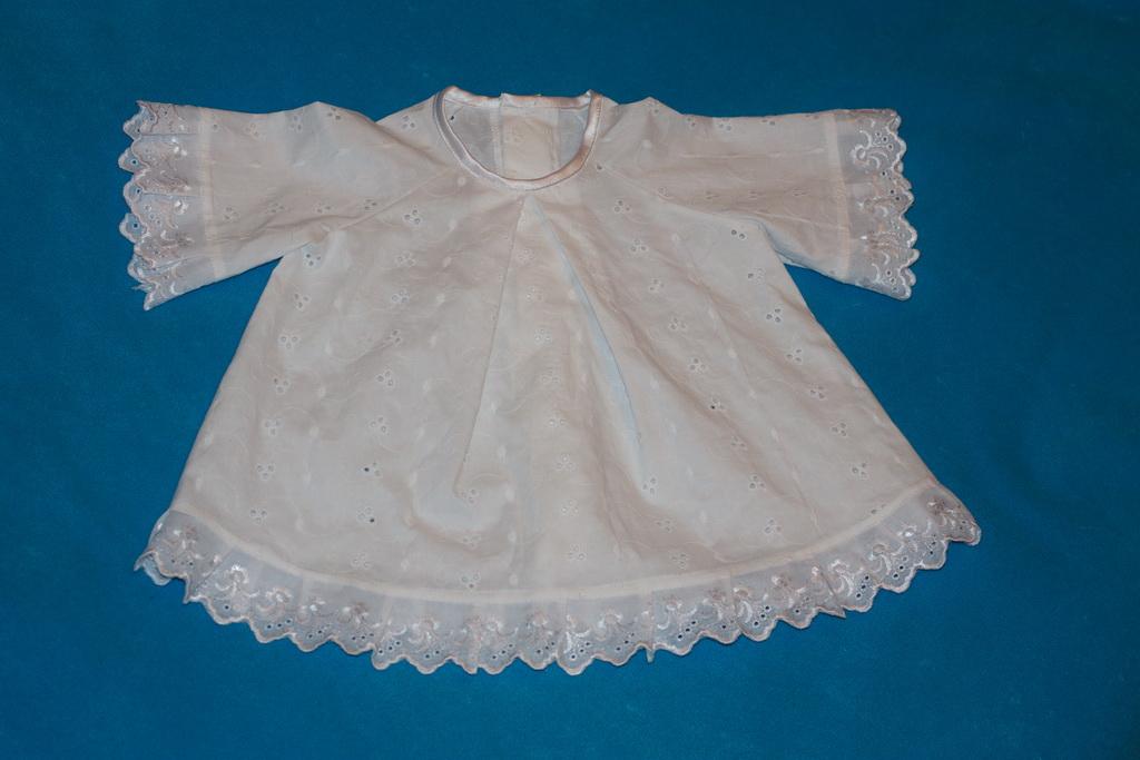 Крестильное платье для девочки сшить 42