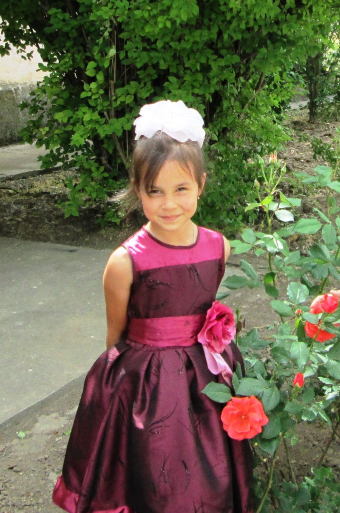 Платье для дочки на выпускной в садике