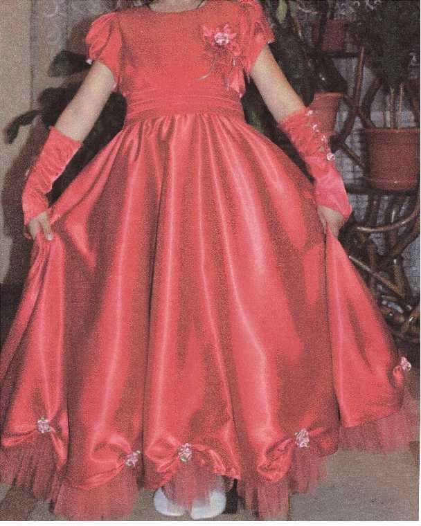 Бальное платье для девочки
