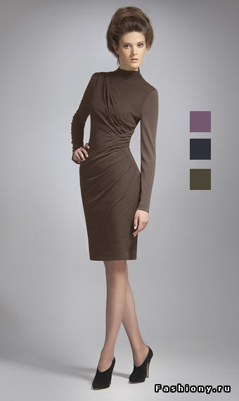 Моделирование платья с асимметричной драпировкой