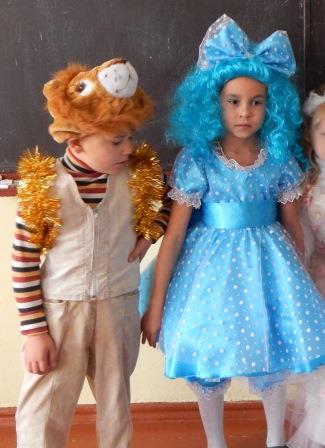 Платье на Новый год Мальвина