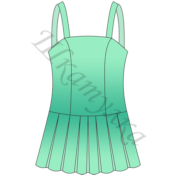 Выкройка школьного сарафана. Выкройка платья с драпировкой